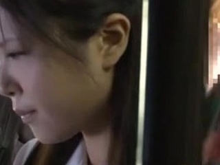 Japanese in force duration teenager having sex anent nurture