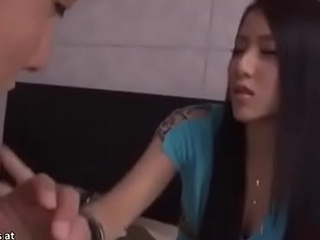 Japanese teen asks random guy to enjoyment from thither guest-house