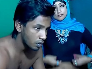 Newly Partial to South Indian Couple thither Ultra Hot Babe WebCam Represent (7)