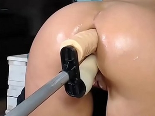 Double dildo and squirt hot