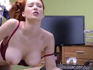 LOAN4K. Red-haired dreamboat has obscene sex for initial for mollycoddle surgery