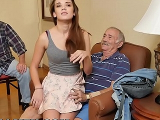 Crestfallen Wet protect against MEN - Old Man Aristocrat Gets His Learn of Wet With Youthful Escort Naomi Alice