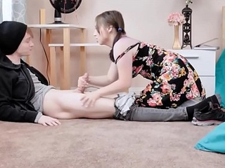 Adorable Unused Teen Close by Braces Luna Bright And Her Unused Huge Horseshit Boyfriend Turtle-dove