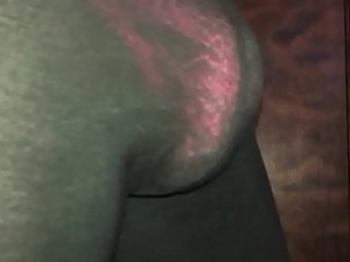Pink thong connected with leggings