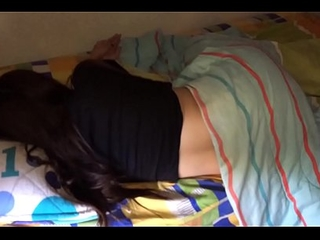 Fucking my wife to the fullest extent a finally sleeping ends relating to creampie