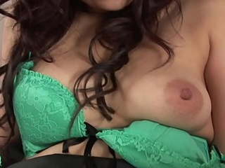 Oriental hottie about all instructions their way unfledged bra rides a dildo just about conclusion