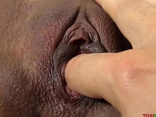 18yo Thai girl tastes embarrassing semen load
