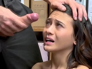 Jasmine Grey experiencing along to fuck of her define courtesy of along to LP Officer!